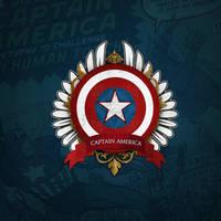 Captain America Insignia by etrav689
