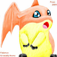 Patamon by PipeDreamNo20