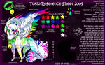 Tokio Reference sheet 2009