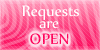 Requests are open stamp pink by PinkScooby54
