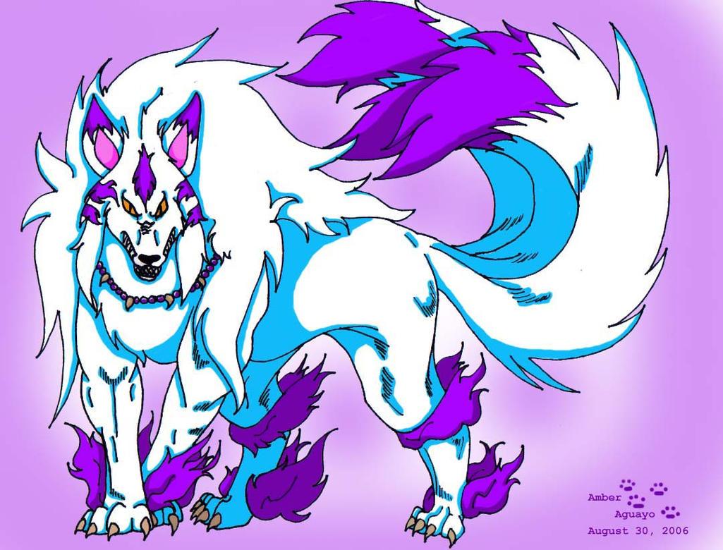 inuyasha demon form dog by PinkScooby54 on DeviantArt