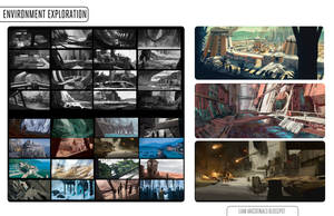 Environment thumbnails by Liammacd