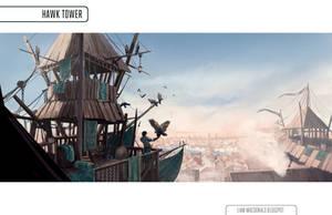 Hawk Tower by Liammacd