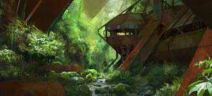 Green Floods by Liammacd