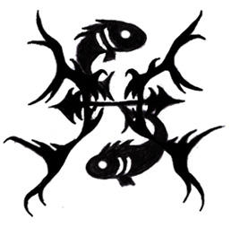 Zodiac Tattoo Designs With Image Zodiac Symbol Picture Tribal Pisces Tattoo 2