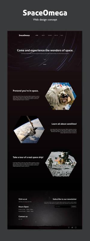 Space Omega Web Design