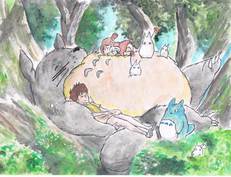 My Neighbour Totoro~ by samui153