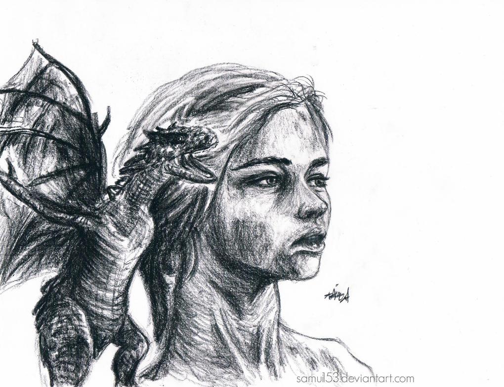 Daenerys Targaryen - Game of Thrones by samui153