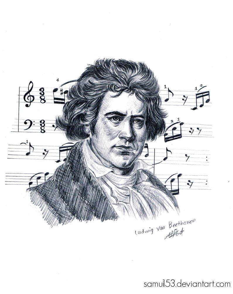 Ludwig Van Beethoven by samui153