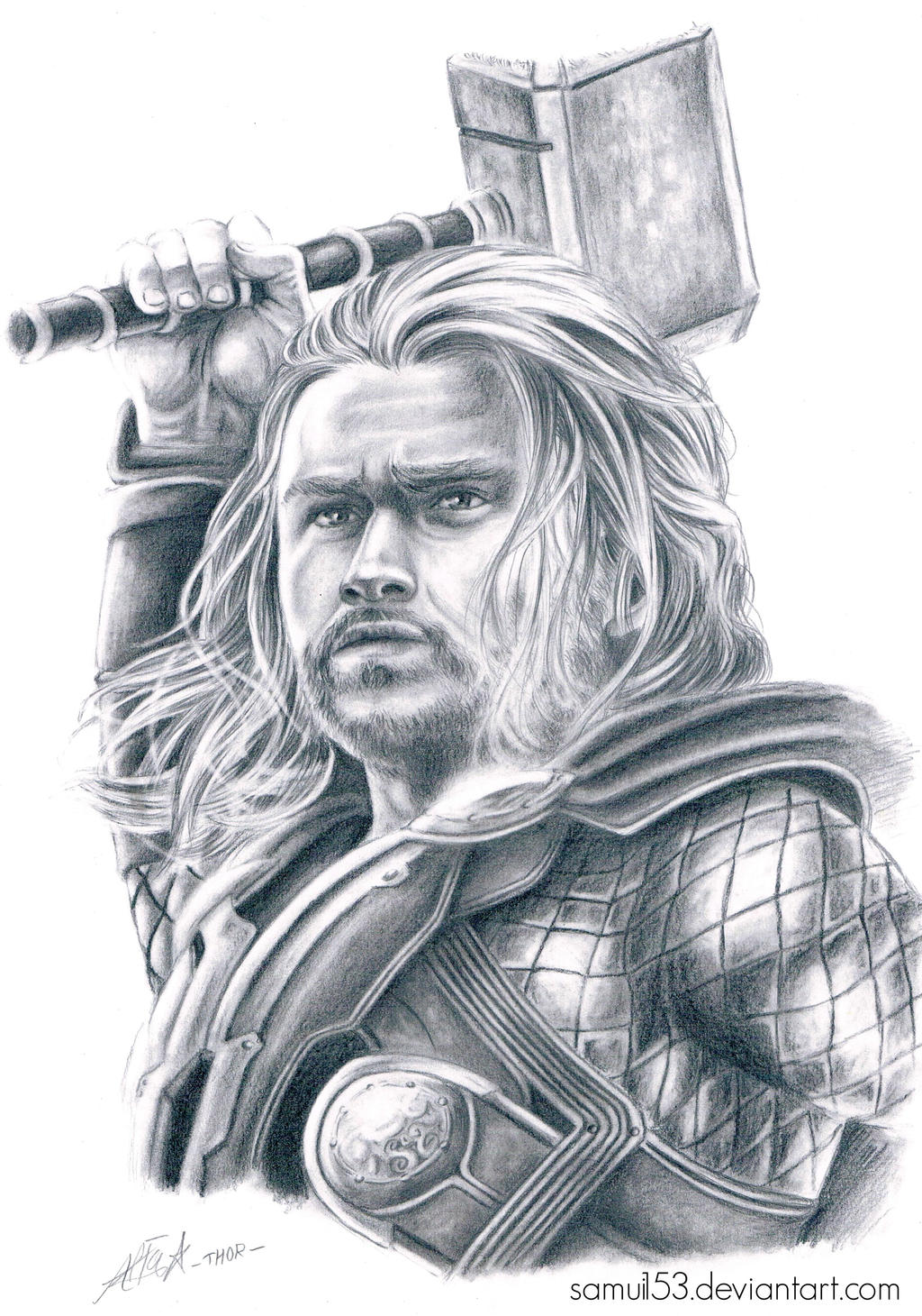 Avengers Age Of Ultron By Iloegbunam On Deviantart: Thor By Samui153 On DeviantArt