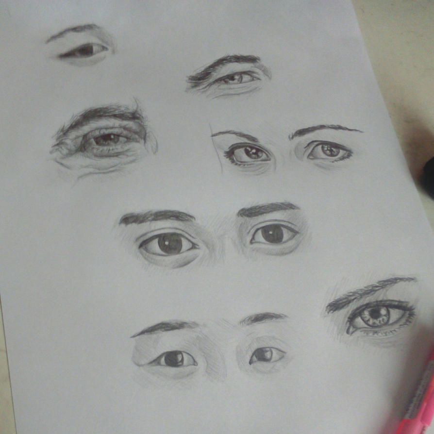 Eyes study by samui153