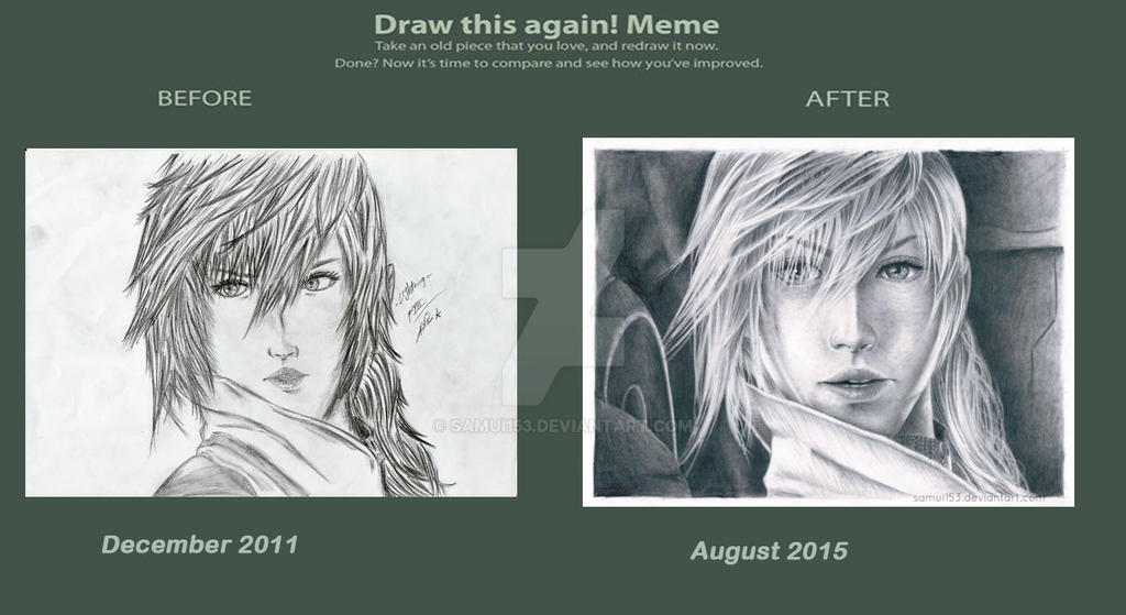 Draw This Again - Lightning FF XIII by samui153