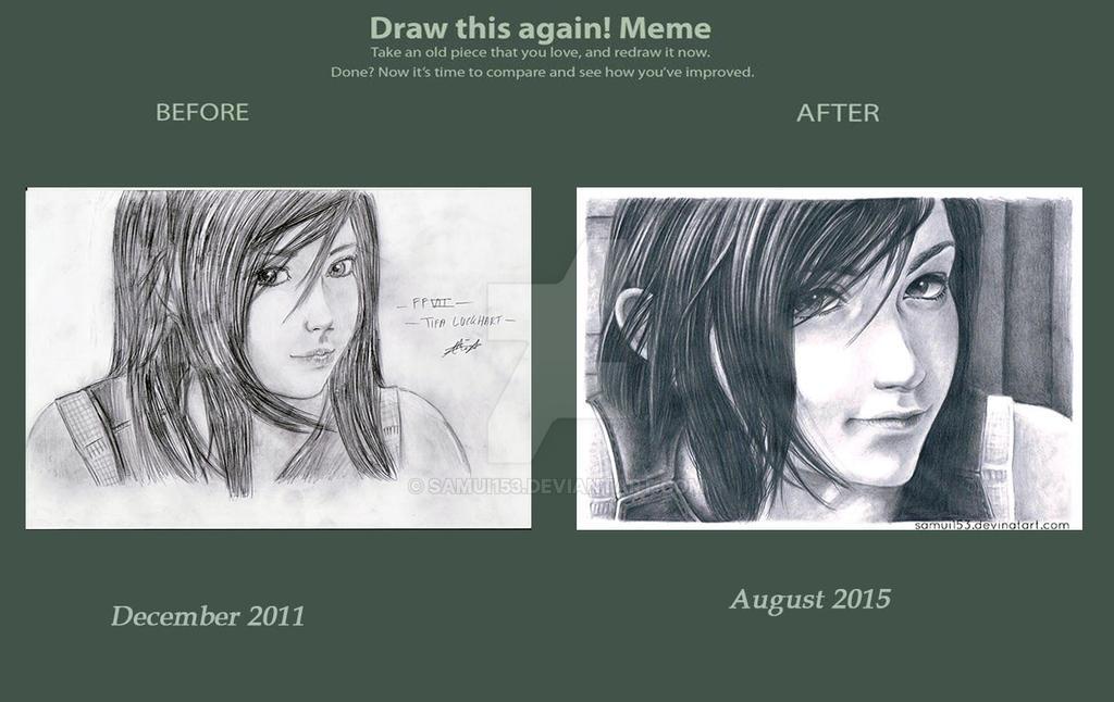 Draw This Again - Tifa Lockhart FFVII AC by samui153