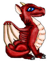 Baby Dragon by Fennic