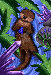 Otter and the Sapphire