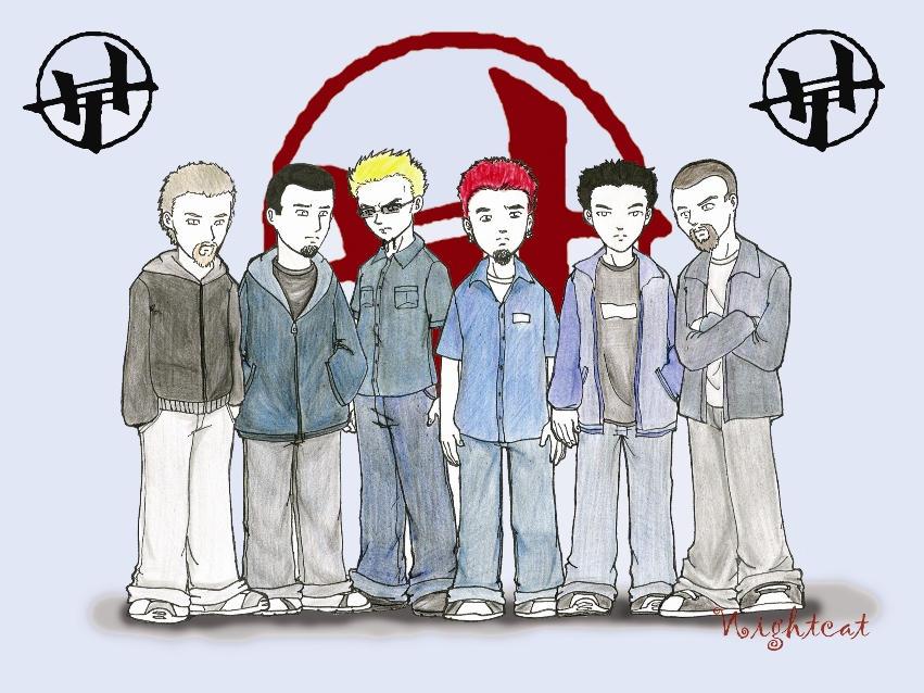 Linkin Park by Nightcathybrid