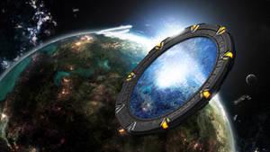 Stargate in Space by dj-corny