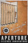Aperture Science 1953 Poster by dj-corny