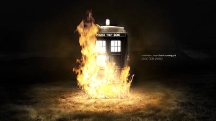 Doctor Who 50th - Time is running out (Tardis)