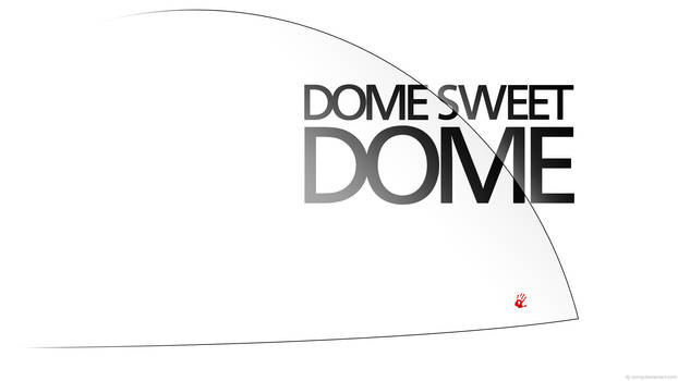 Under the Dome Wallpaper - Dome sweet Dome (white)