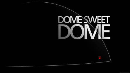 Under the Dome Wallpaper - Dome sweet Dome (black)