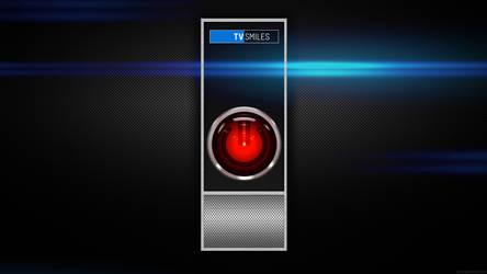 TVSmiles - HAL 9000 by dj-corny