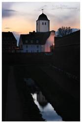 Evangelical church Juelich by dj-corny