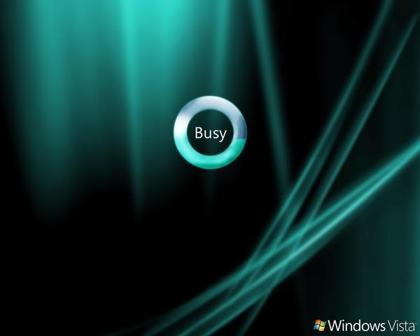 Windows Vista Busy Wallpaper by dj-corny