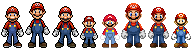 The Many Faces of Mario by popabeat