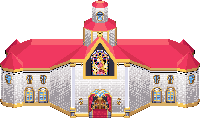 Peach S Castle Wip By Popabeat On Deviantart