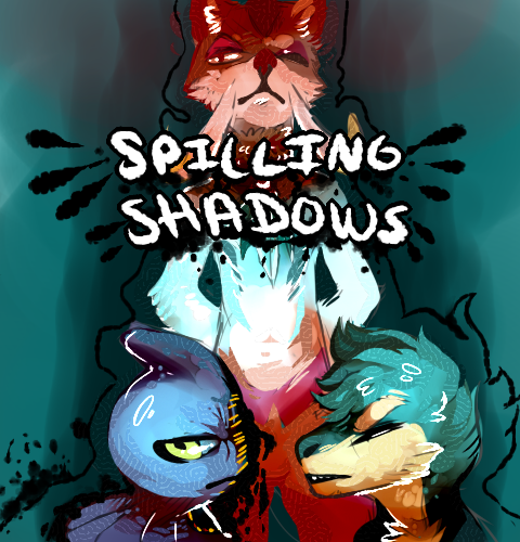 Spilling Shadows COVER by King-Meteor
