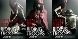 UNICEF -  RED RIDING TROOPS