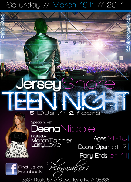 Teen Night Club Flyer By Mostarac On Deviantart