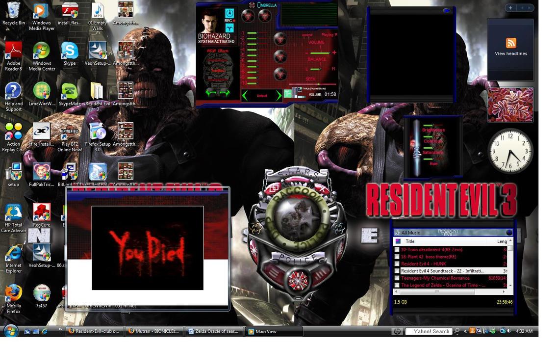 Resident Evil desktop :D by Minoru-Kokubunji