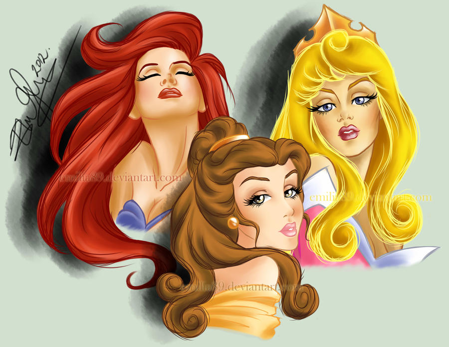 ~*~Princesses~*~ by Emilia89