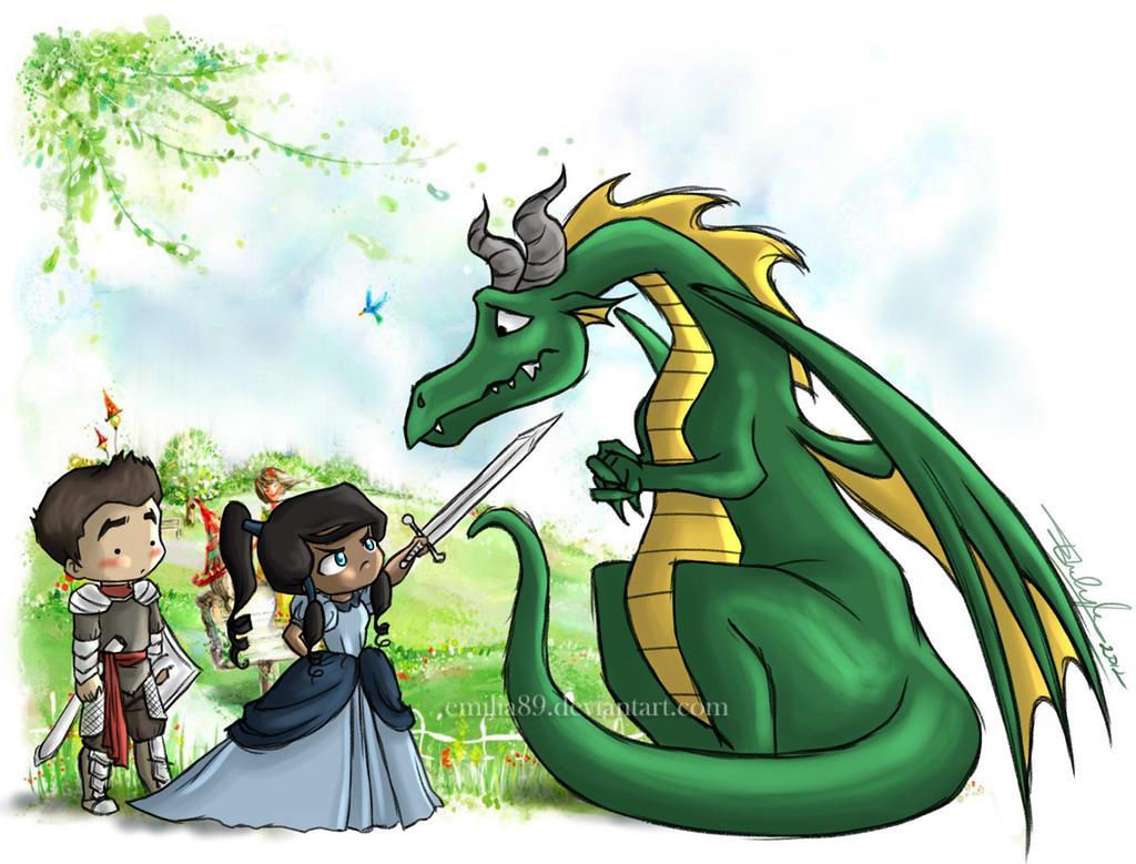 Makorra Week :: Fantasy by Emilia89