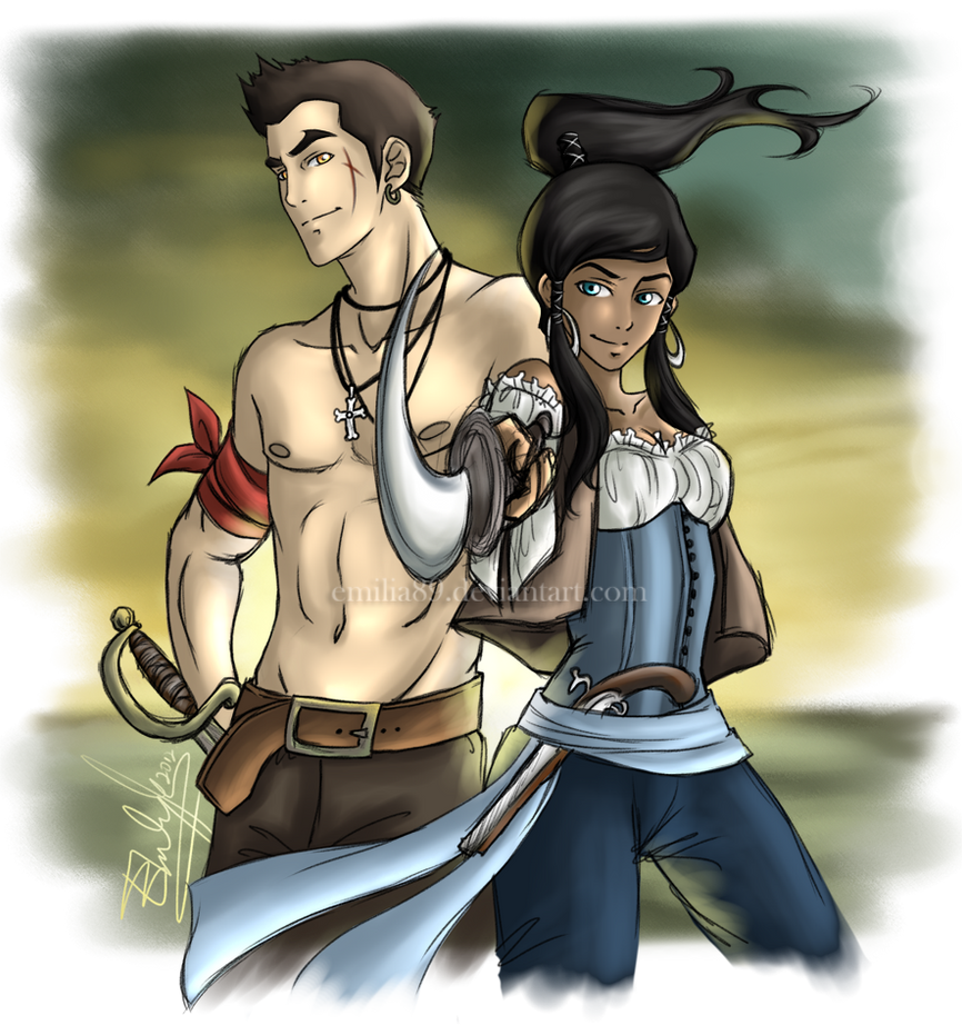 Makorra Week :: Crossover by Emilia89