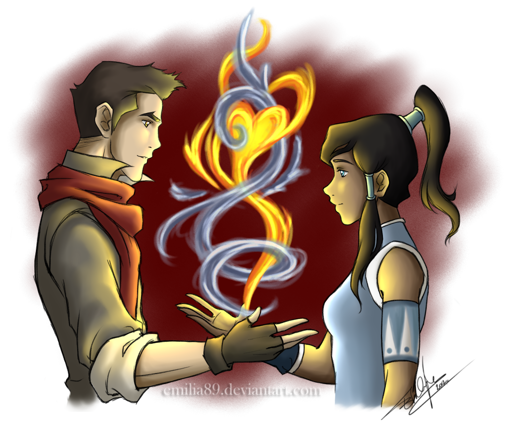 Makorra Week :: Balance by Emilia89