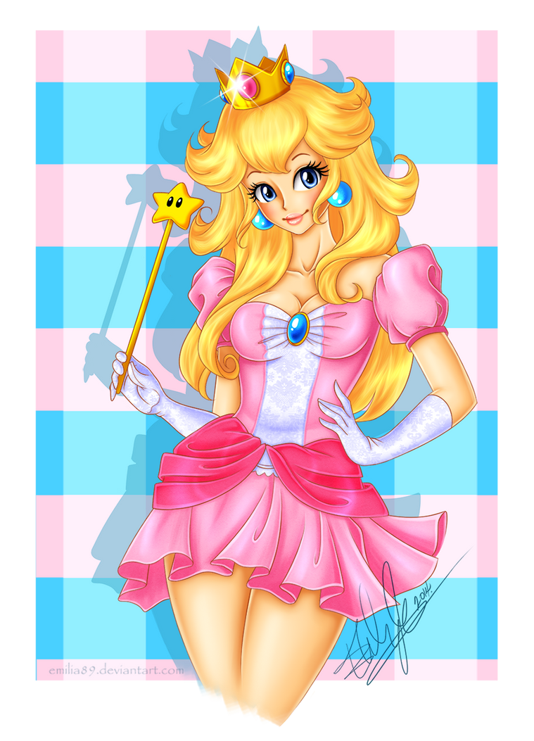 Princess Peach by Emilia89