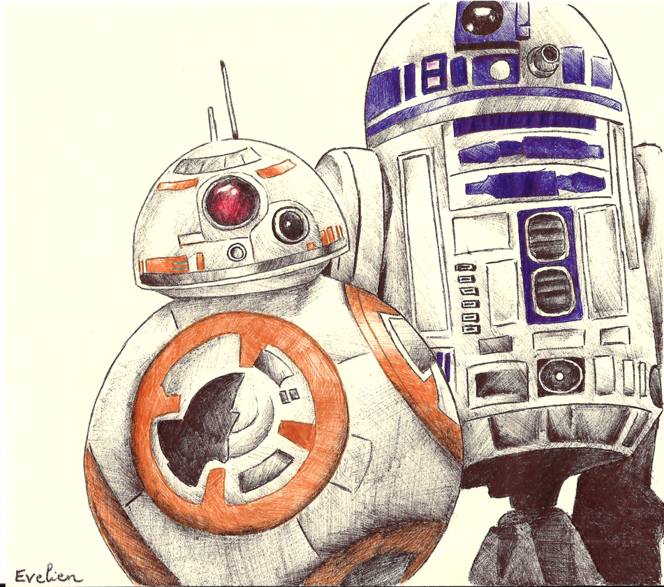 R2d2 360 View R2d2 En Bb8 by eviekeu...