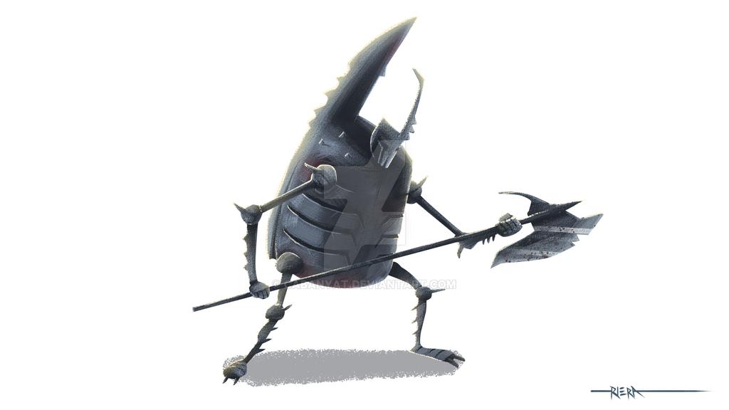 Xayide Warrior 01: Axe by Cabanyat