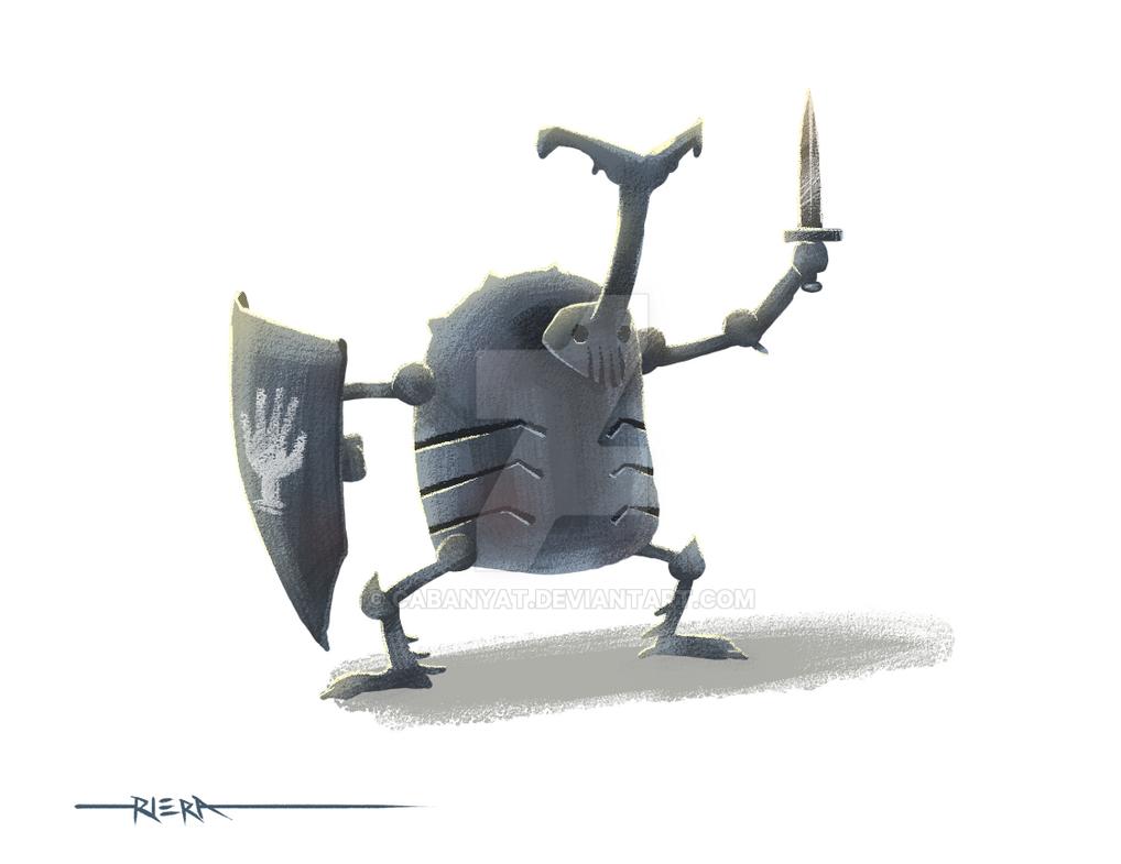 Xayide Warrior 03: Shield by Cabanyat