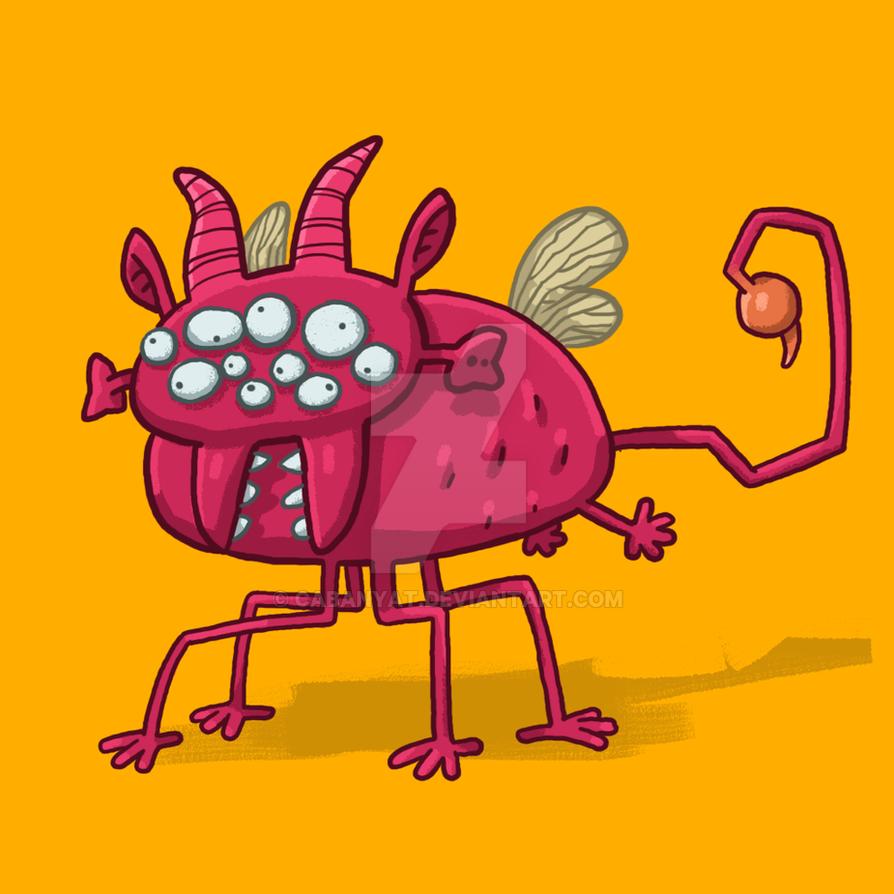 Monster 06 by Cabanyat