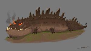 Glaurung - dragon worm
