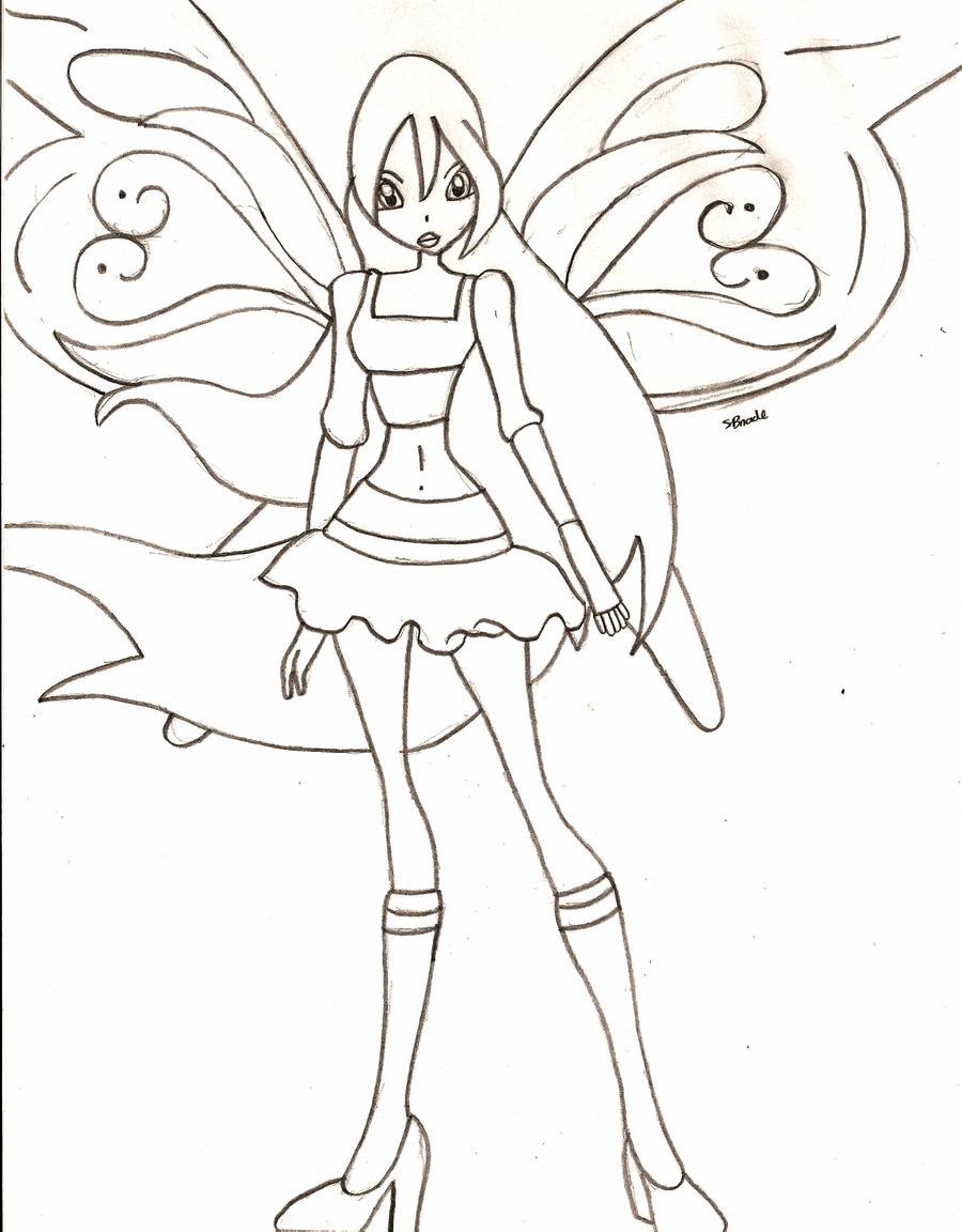 Free Download Colorear Las Winx Club Enchantix Dibujos ...