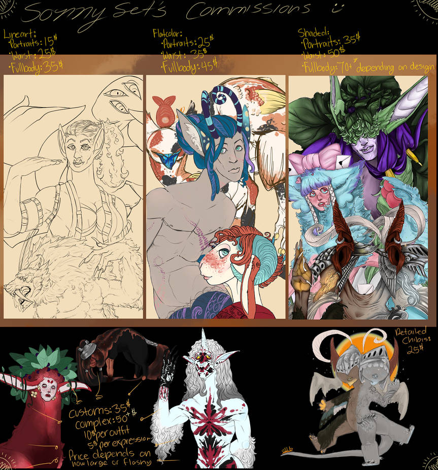 Commission  Info(Closed)