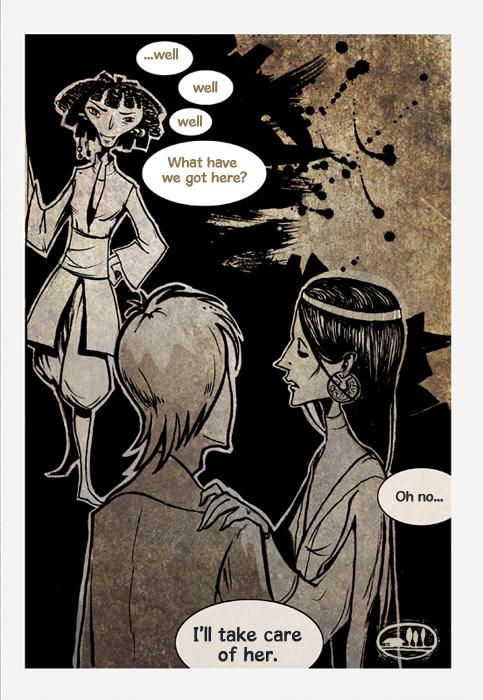 Comics Practice by ThreePoplarTrees