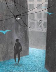 Blue - Remember by ThreePoplarTrees
