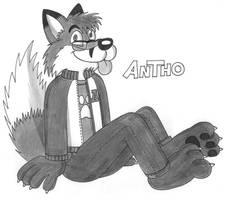 Antho's Fursona (Toon version) by AnthoFur