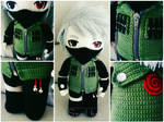 Kakashi crochet doll